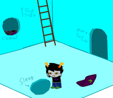 +Kolind: Examine hole in the ice. by Toasterstuck