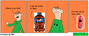 Eddsworld Comic - Cola Wars by TanimationProd