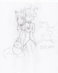 Sho and Ryo-St. Patty's Day by HylianLycan