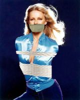 Cheryl Ladd Bound and gagged in jeans by LangleyKate