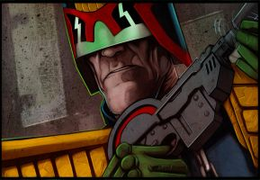 Judge Dredd by MrLeeCarter