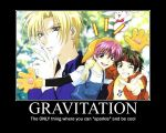 Gravitation by hyper-yet-bored
