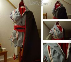 WIP Ezio Auditore Cosplay II by Waterqueen-san