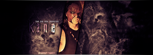 Kane WWE Banner by Crazy-Sweet