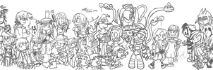 Efn Group Sketch WIP by Baron-Fredrico
