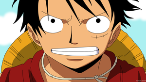 One piece, Luffy vector 2 by dotGif