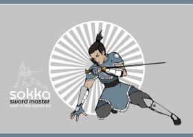 Sokka: Sword Master by Samie661