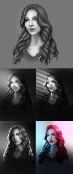 How to Light Portraits by MelodyNieves