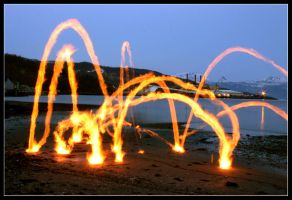 Jumping Flames 2 by el-larso