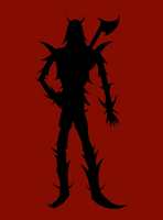 WIP Silhouette by Skeletal-Clown