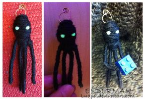 Enderman charm by Ludjia