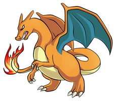 Day 21 - Charizard by Ashteritops
