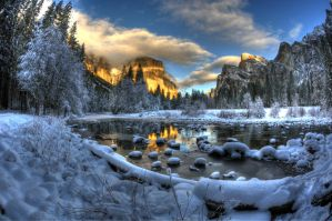 yosemite Winter 8 by merzlak