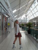 Maka Albarn Cosplay 3: Glance by disasterbynature