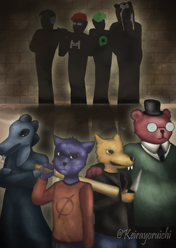 Night in the Woods Crossover by Keirayoruichi