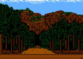 To the mountain - NES style art by Ratmanxx