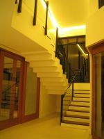 DDR residence main stairs by evil-hanzel