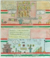 Super Mario Bros Mail Art 1 by LordPatamon