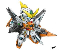 SD Kyrios colored by Rekkou