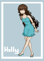 Rough Landing Holly by Aeth-The-God