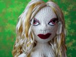 Knitted Fashion Doll: Circe by ashesonfire