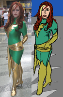 Attempt 10 -- Jean Grey Cosplay by SEwing0109