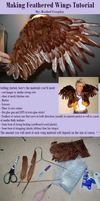Feathered Wings Tutorial by Kudrel-Cosplay