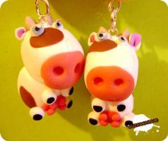 FIMO - cows by buzhandmade