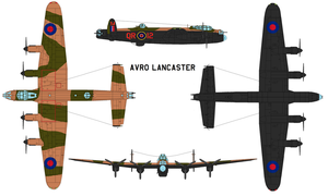 Avro Lancaster by bagera3005
