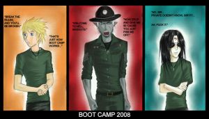 Boot Camp by PencilWarrior