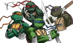 ninja turtles by camillo1988
