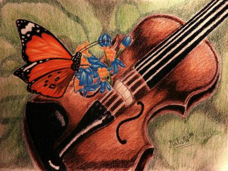 butterfly by MalaMi95