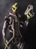 Mass Effect - Thane Krios by jocker909