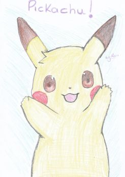 Pikachu by DustedEvening