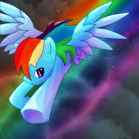 Rainbow Dash by LordSameth