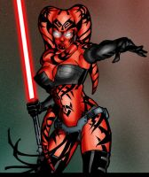 Darth Talon by mikems71 colour by hellbat
