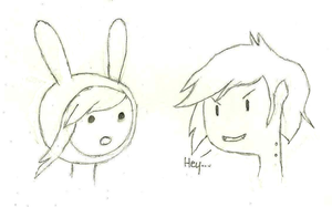 Fionna and Marshall Lee by dewdrinker6