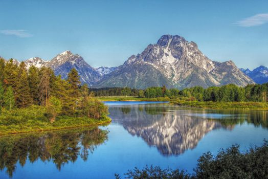 Grand Tetons by RayM0506