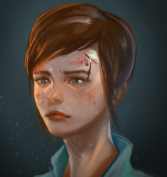 Ellie - from last of us by Louie-Oh
