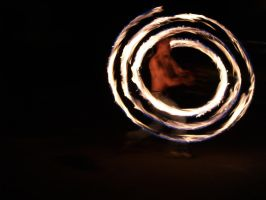 Fire dancer by andresto