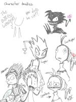 Some Spakazly Doodles by kittydemonchild