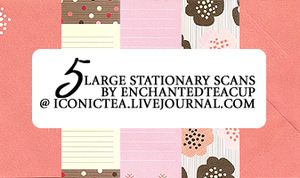 5 Large Stationary Scans by enchantedteacup