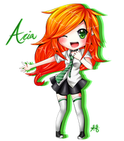 Aria -Commission- by HappySmileGear