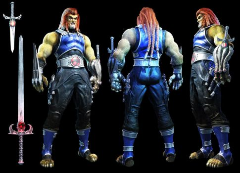 Thundercats - Lion-o Redesign by Konartist3D