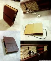 Mini Leather Book by shirua