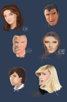 Face Sketches by Gabriel-Oliveira-GO