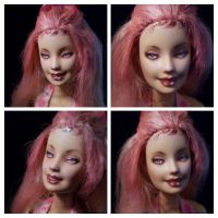 Pink Barbie Repaint 1 by Cute-spider86