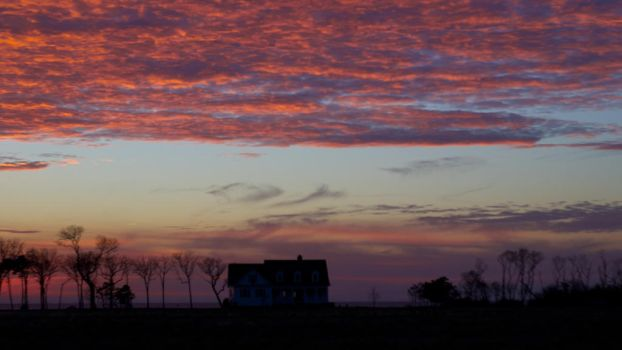 Eastern Shore Sunset 16 x 9 by wally626