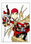 Gaara artbook cover color by 4OUS