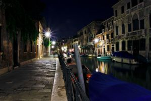 Evening on the Venice Canal by BusterBrownBB